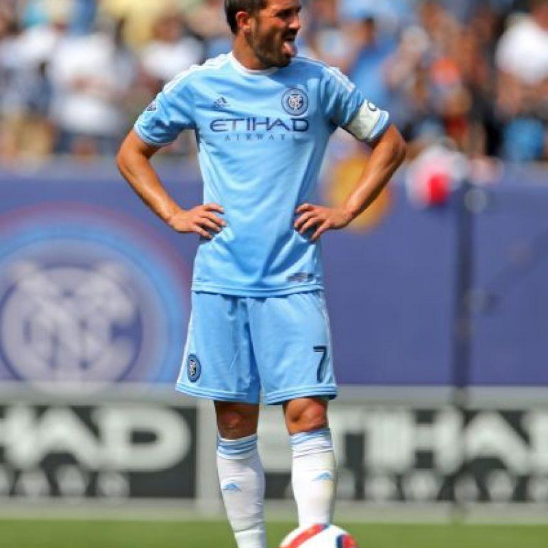 El exseleccionado español tiene un sueldo de 5.61 millones de dólares con el New York City Foto:Getty Images