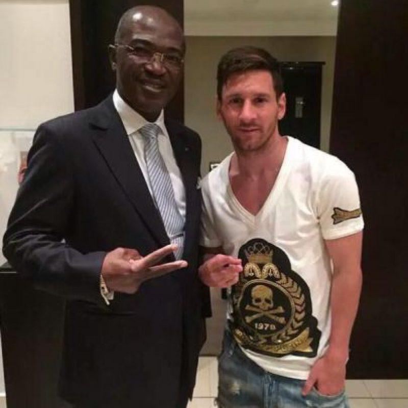 Lionel Messi visitó Gabón Foto:Vía instagram.com/leomessi