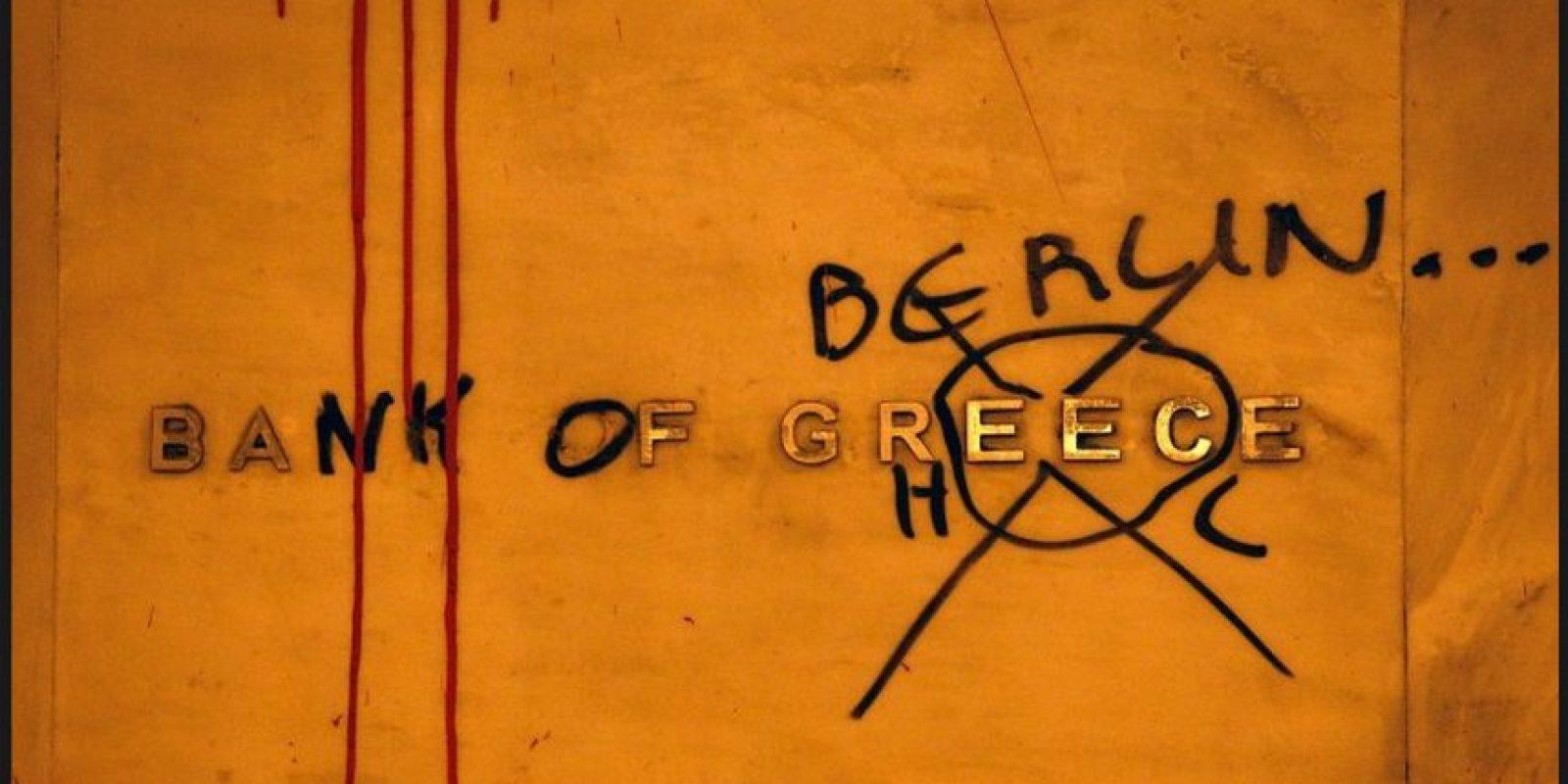 Grecia tiene una deuda soberana de 340 mil millones de euros Foto:blog.elpais.com