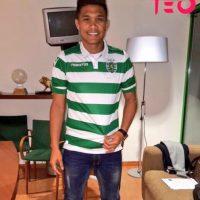Teo ahora juega en el Sporting de Lisboa Foto:Vía twitter.com/TeoGolR