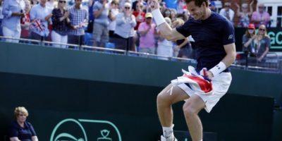 Murray y Gran Bretaña se medirán en las semifinales a Australia Foto:AFP