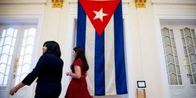 La delegación cubana estuvo encabezada por el ministro cubano de Relaciones Exteriores, Bruno Rodríguez Parrilla. Foto:AFP