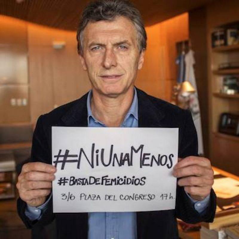 También fue presidente del club Boca Juniors y diputado por la Ciudad Autónoma de Buenos Aires Foto:Facebook.com/mauriciomacri
