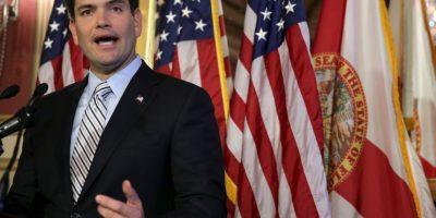 Marco Rubio, precandidato a la presidencia por el Partido Republicano. De ascendencia cubana Foto:Getty Images
