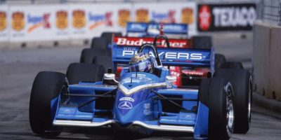 En 1999, el piloto británico Greg Moore falleció tras un accidente durante una carrera de la Fórmula Cart. Foto: Getty Images
