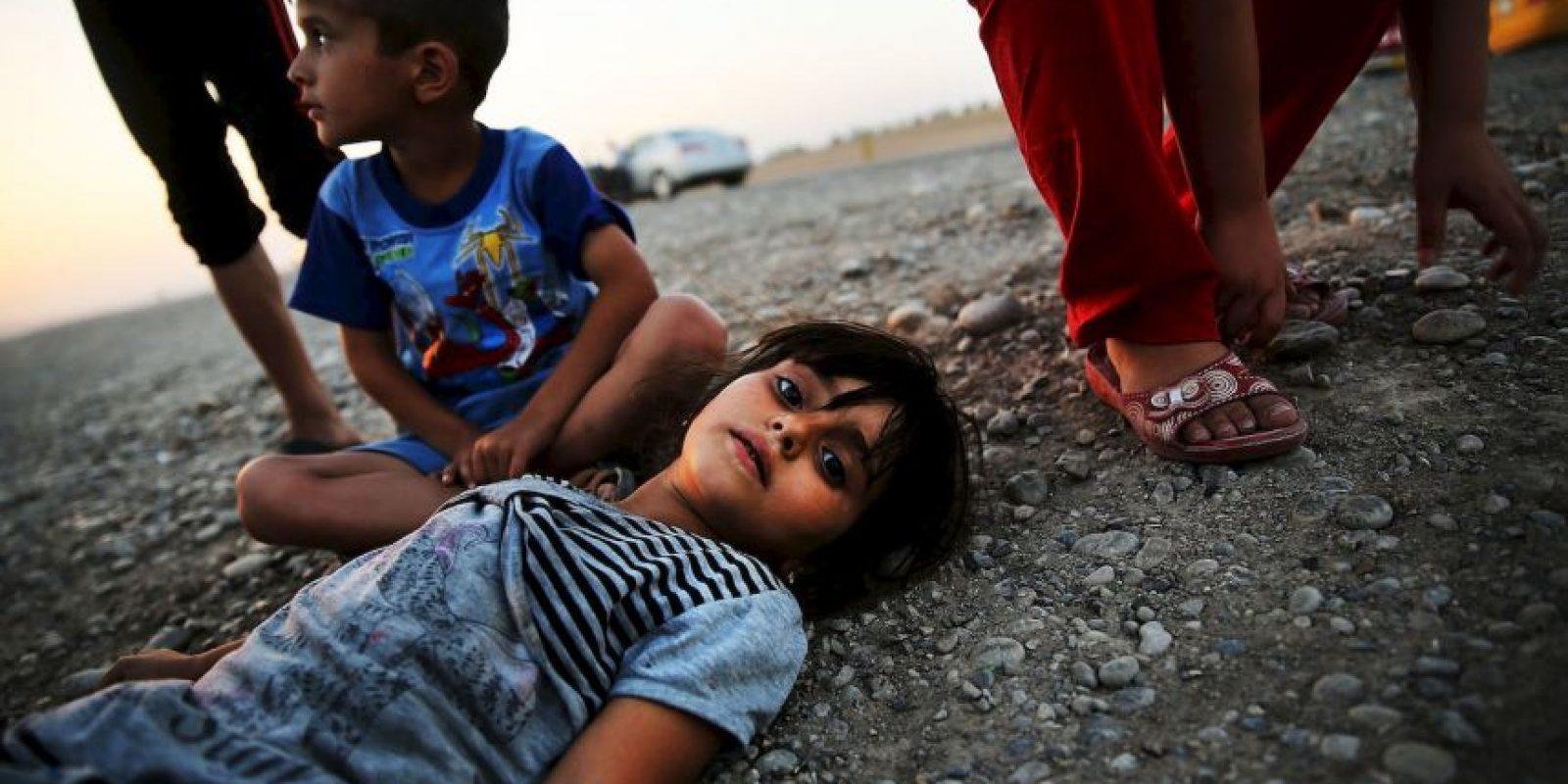 2. Los primeros videos que impactaron al mundo fueron las imágenes de los rehenes extranjeros que fueron decapitados. Foto:Getty Images