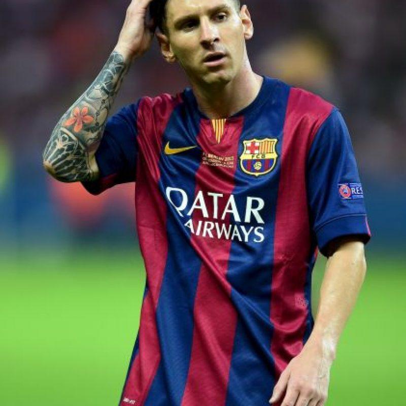 Cuando casi todos sus colegas estaban de vacaciones, Lionel Messi disputaba la final de la Champions League el 6 de junio de 2015. Foto:Getty Images