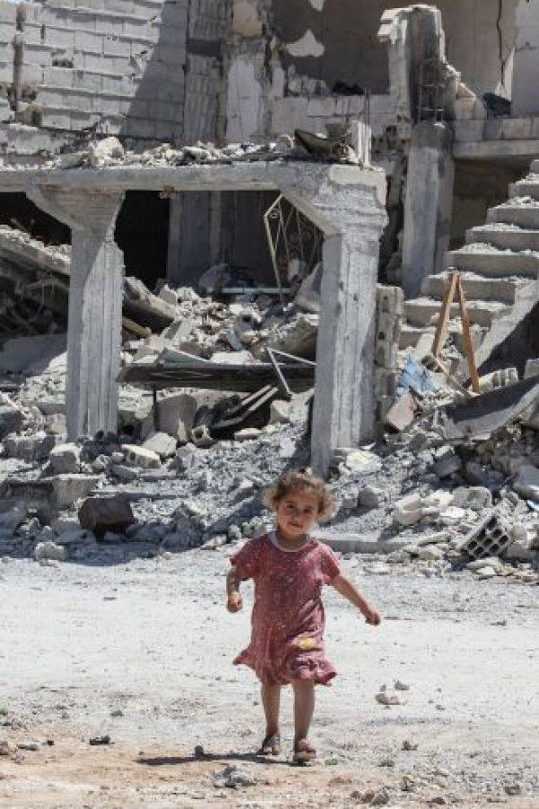 4. Recientemente el grupo terrorista ha aumentado el uso de niños para sus actos de terror. Foto:Getty Images
