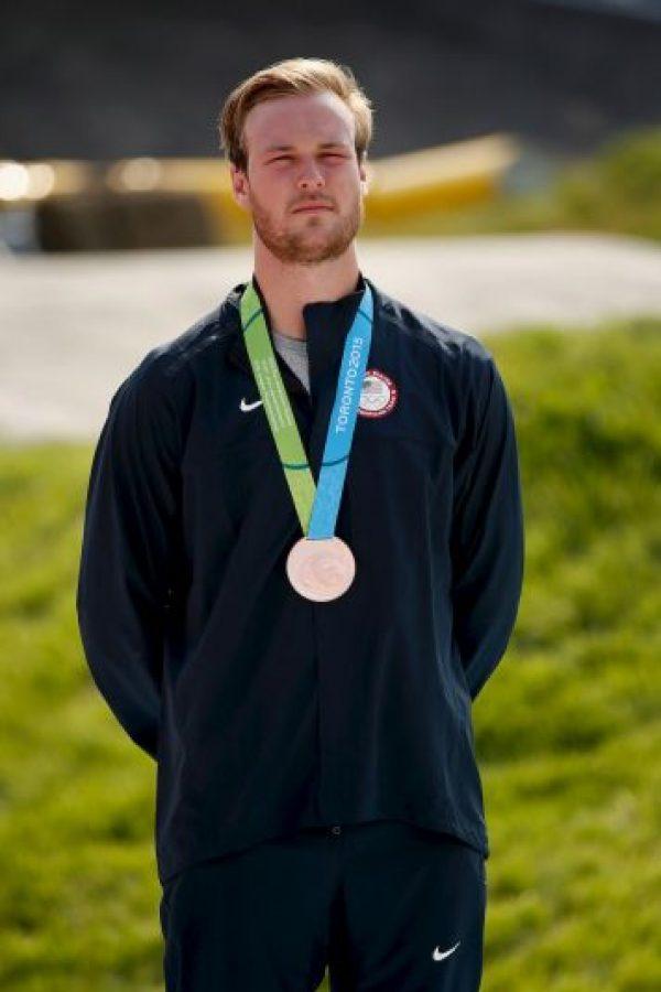 Nicholas Long ganó bronce en BMX masculino. Foto:Getty Images