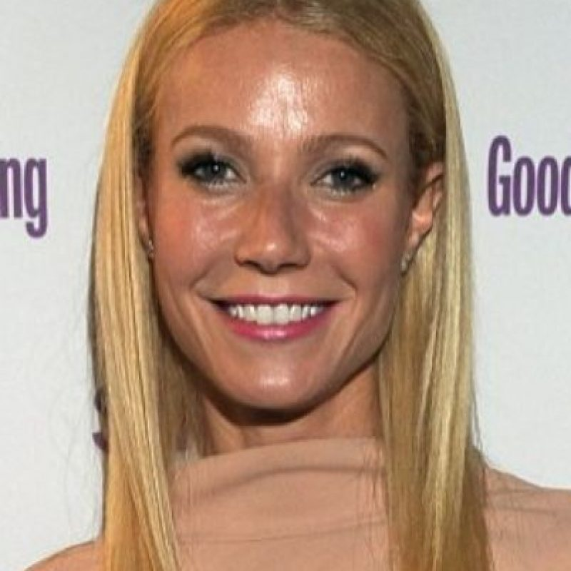 Gwyneth Paltrow y su frente reluciente. Foto: vía Getty Images