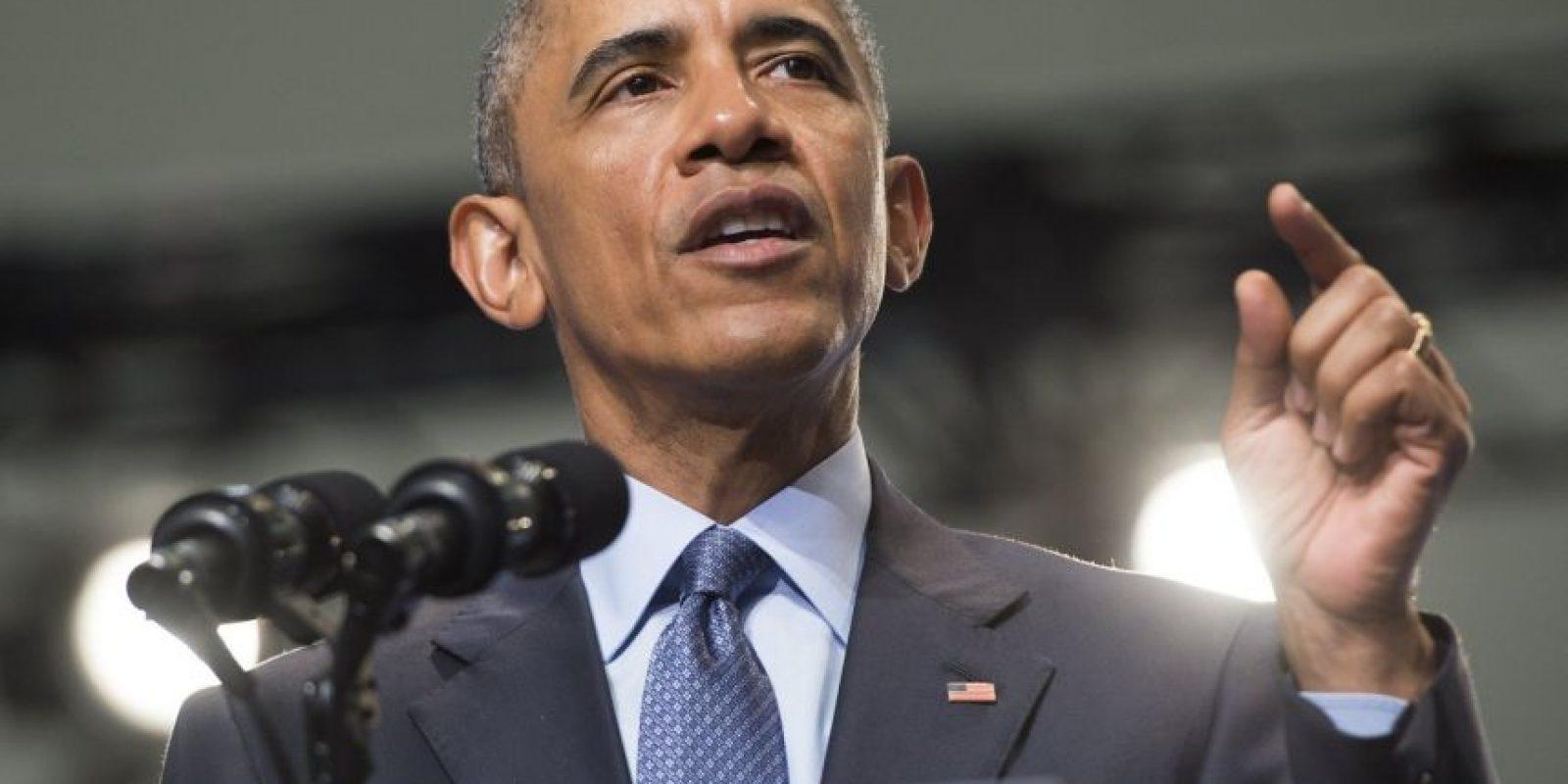 El presidente estadounidense Barack Obama, dio un discurso en la Convención Nacional 116a de los Veteranos de Guerras Extranjeras. Foto:AFP