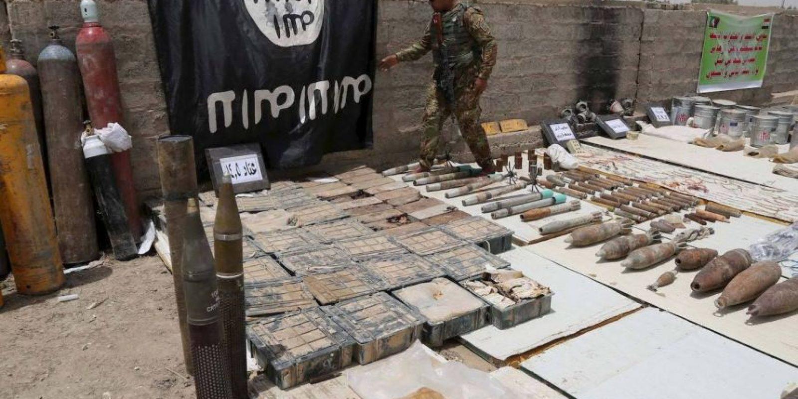 Posiblemente suceda debido a que el grupo terrorista se esta quedando sin municiones. Foto:Getty Images