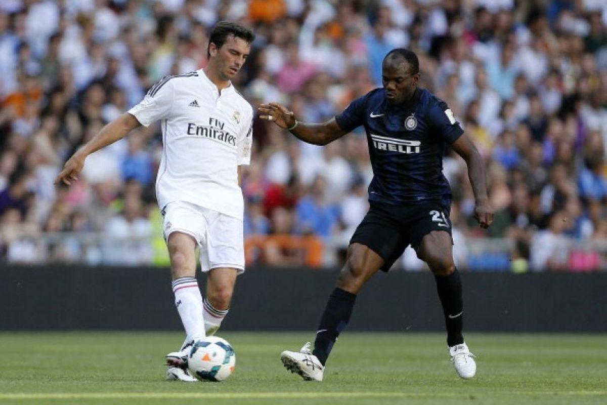 En Real Madrid de 2001 a 2007. Foto:Getty Images