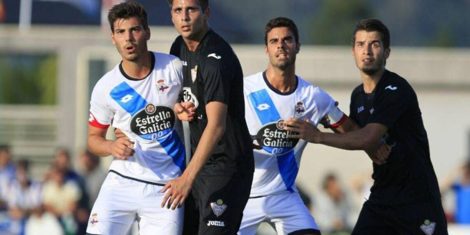 """En él, insultó al equipo gallego y por ello, el """"Depor"""" desistió de contratarlo. Foto:Vía facebook.com/RCDeportivo"""