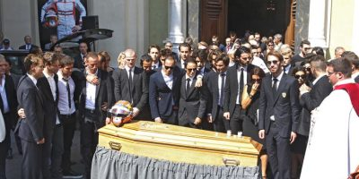 Este 21 de julio fue su funeral en su natal Niza, Francia. Foto:AP