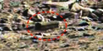 """4. Piedra con forma de ataúd. De acuerdo al sitio """"MundoMisterioso.net"""", esta supuesta caja se encontró en enero de 2015 Foto:NASA"""
