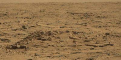 Esta es la foto oficial difundida por la NASA Foto:NASA. Fotografía original en http://mars.jpl.nasa.gov/msl-raw-images/msss/00064/mcam/0064MR0285001000E1_DXXX.jpg