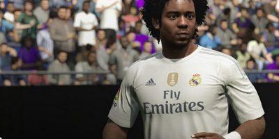Marcelo en el FIFA 16. Foto:EA Sports