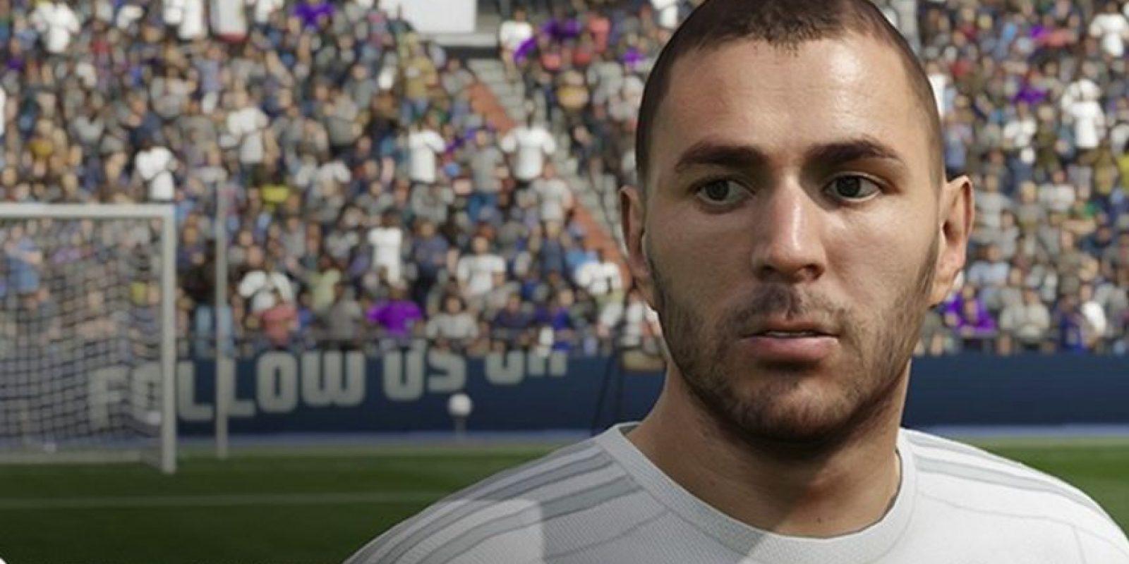 Benzema en el FIFA 16. Foto:EA Sports