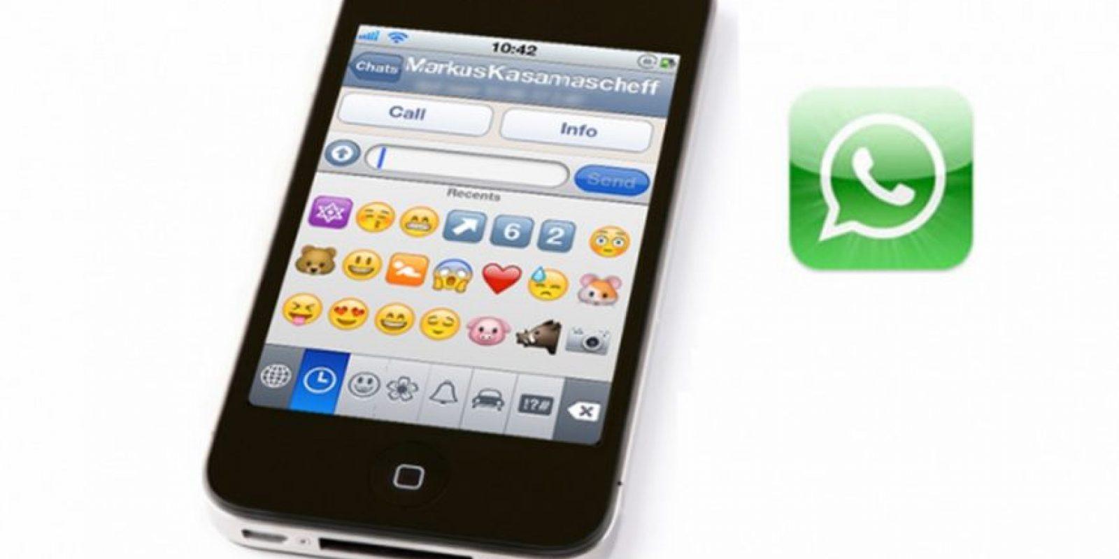 8- Eliminar mensajes enviados. Foto:Tumblr