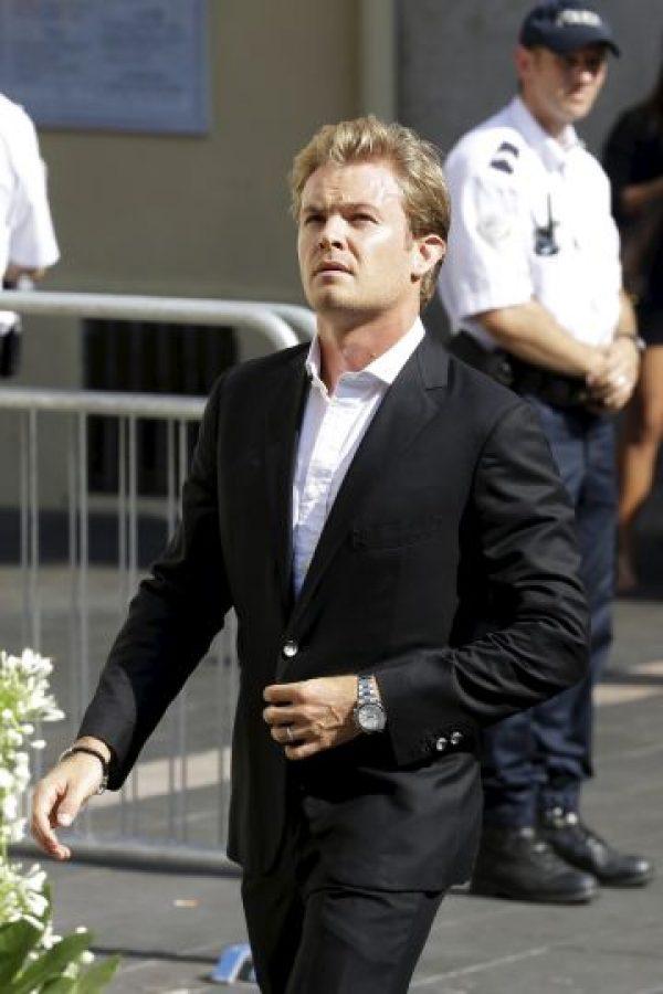 También asistió el alemán Nico Rosberg, de Mercedes. Foto:AP