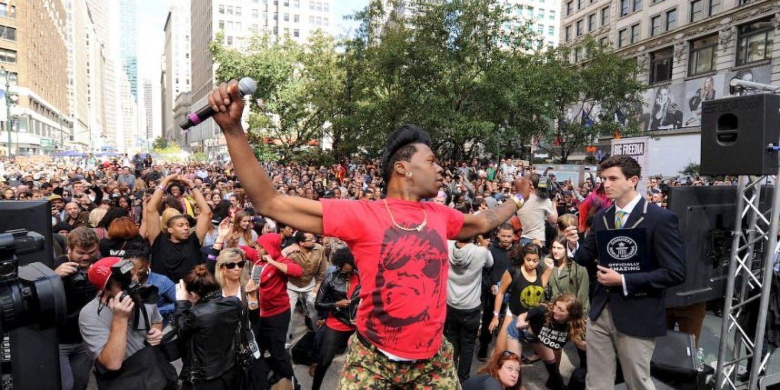 Evento de twerking con más personas Foto:Getty images