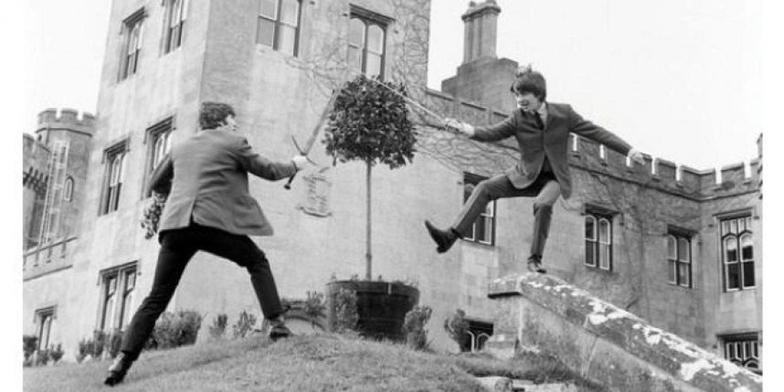 Entre sus huéspedes se encuentra el grupo británico The Beatles Foto:Facebook.com/dromolandcastle
