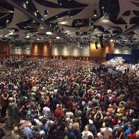 Uno de los actos de campaña de Trump, donde reunió a más de 17 mil personas, de acuerdo a sus cifras. Foto:Instagram.com/RealDonaldTrump