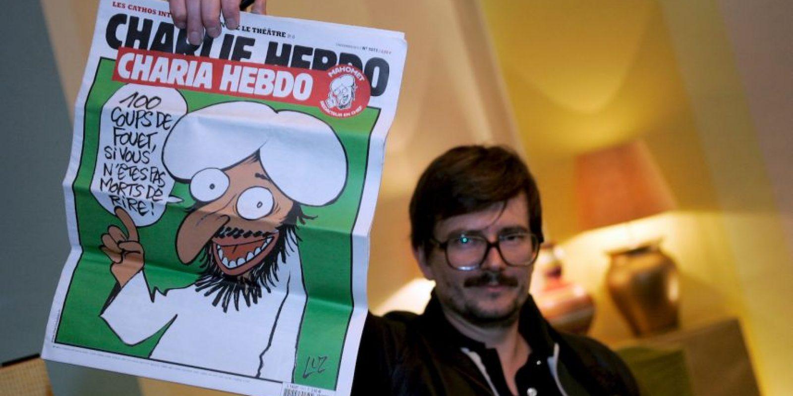 Lauren Sourisseau, editor de la revista satírica fue quien dio a conocer la noticia. Foto:Getty Images