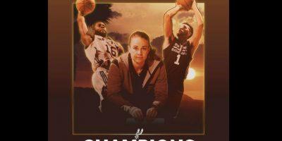 """Becky Hammon, la primera mujer """"head coach"""" de la NBA continúa haciendo historia. Foto:Vía facebook.com/Spurs"""