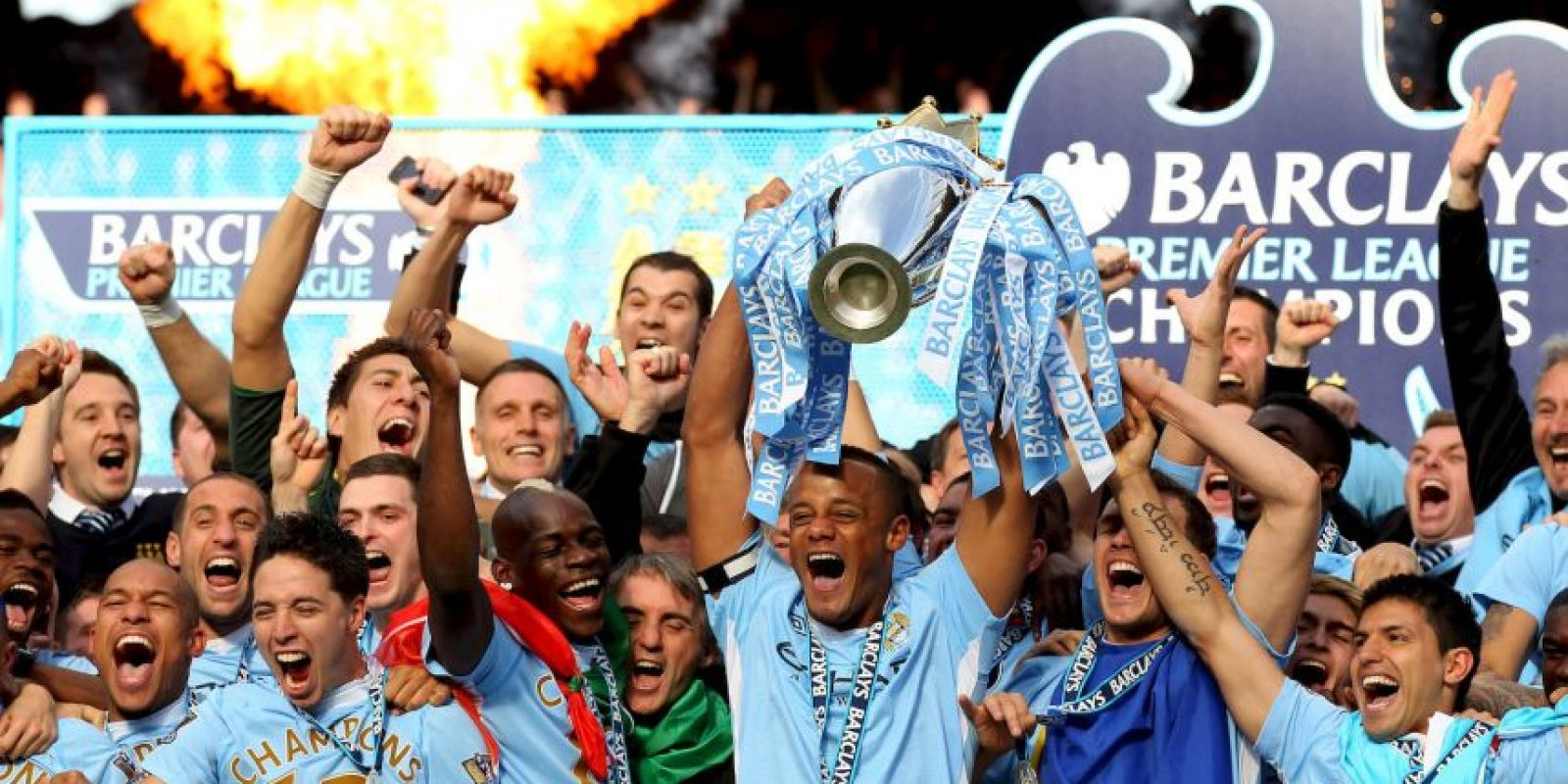 2012 – Manchester City Foto: Getty Images