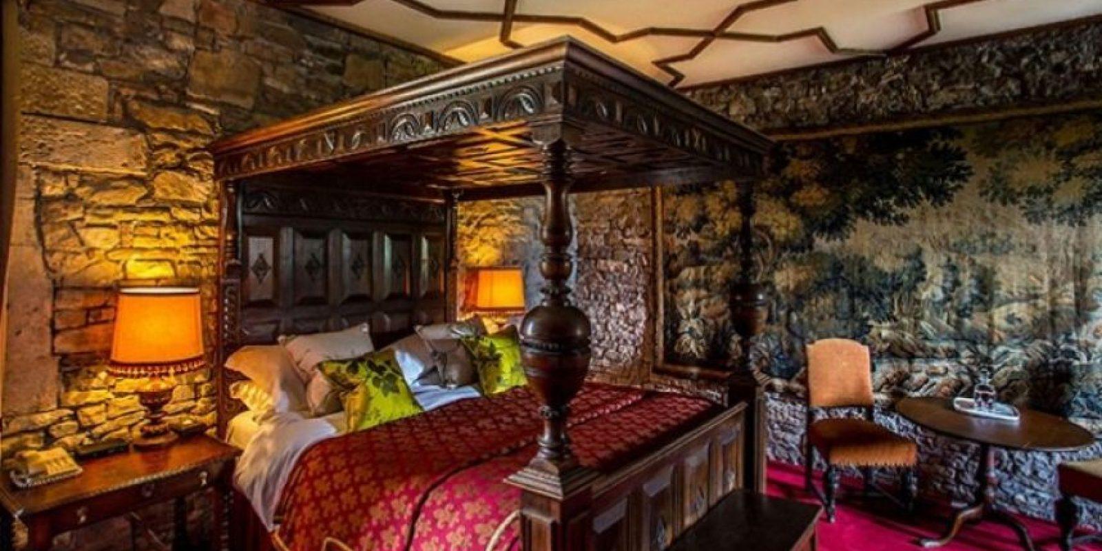 La suite de lujo se llama The Gatehouse y cuenta con doble recámara, dos baños y una cocina completa Foto:Thornburycastle.co.uk