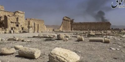 Hace unos meses, ISIS causó condena mundial al destruir parte de la ciudad de Palmyra, en Siria, lugar construido en el Siglo I Foto:AP
