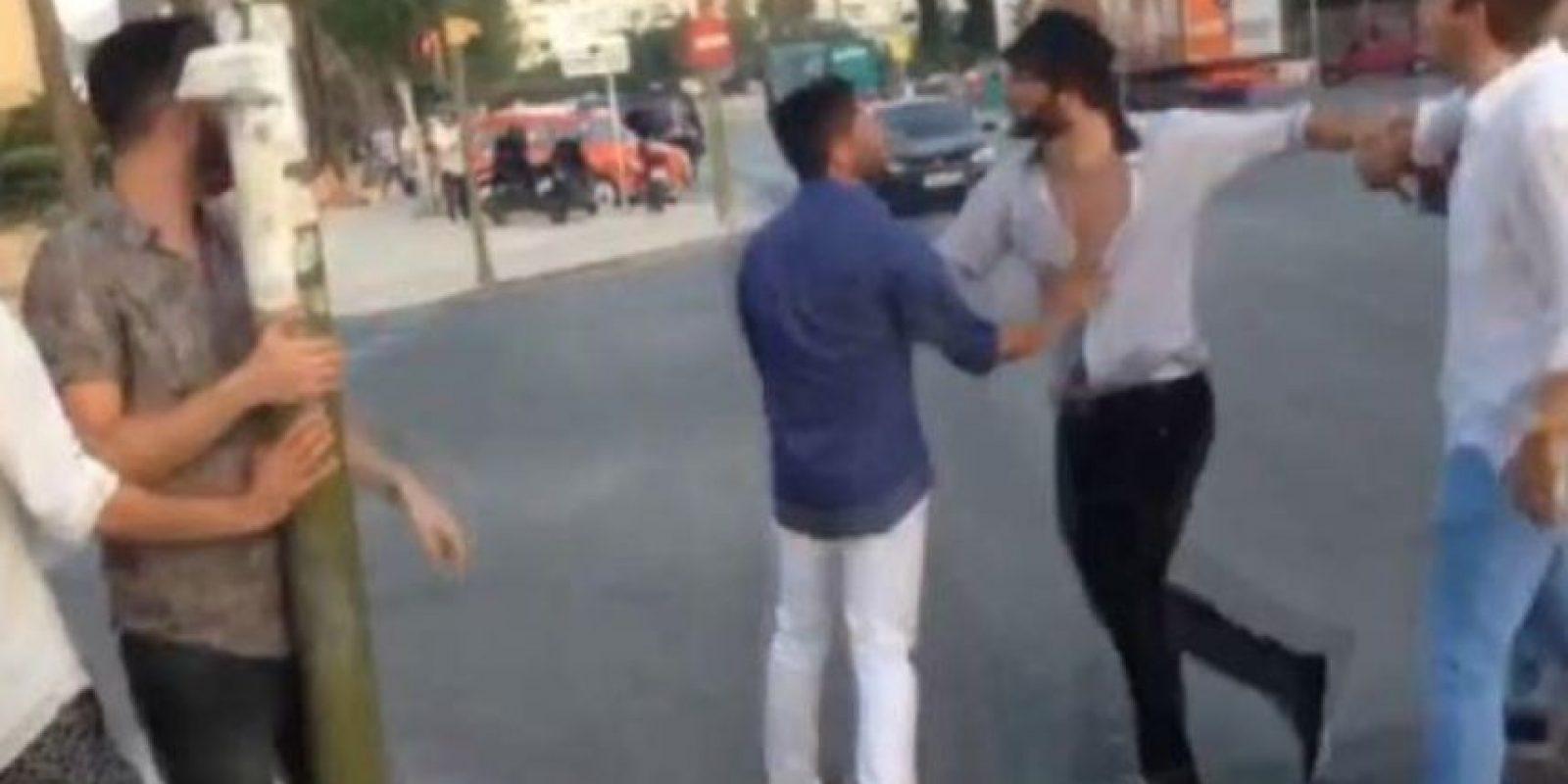 El incidente ocurrió en Ibiza Foto:Twitter
