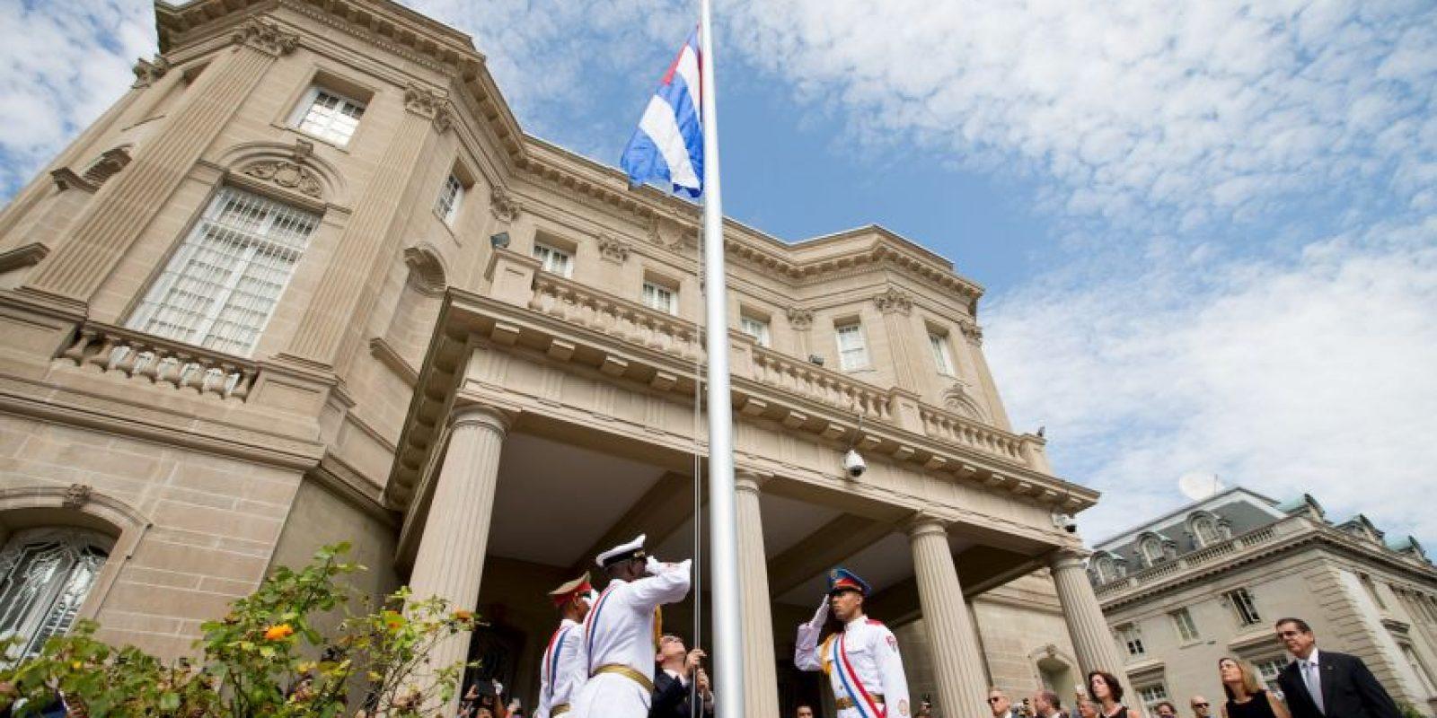 Este lunes se abrieron las embajadas en ambos países. Foto:AFP