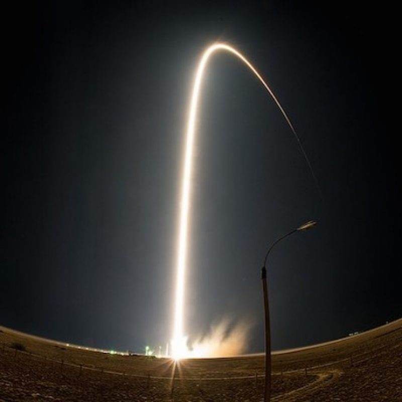 22 de julio: El lanzamiento de la cápsula espacial Soyuz Foto:Instagram.com/NASA