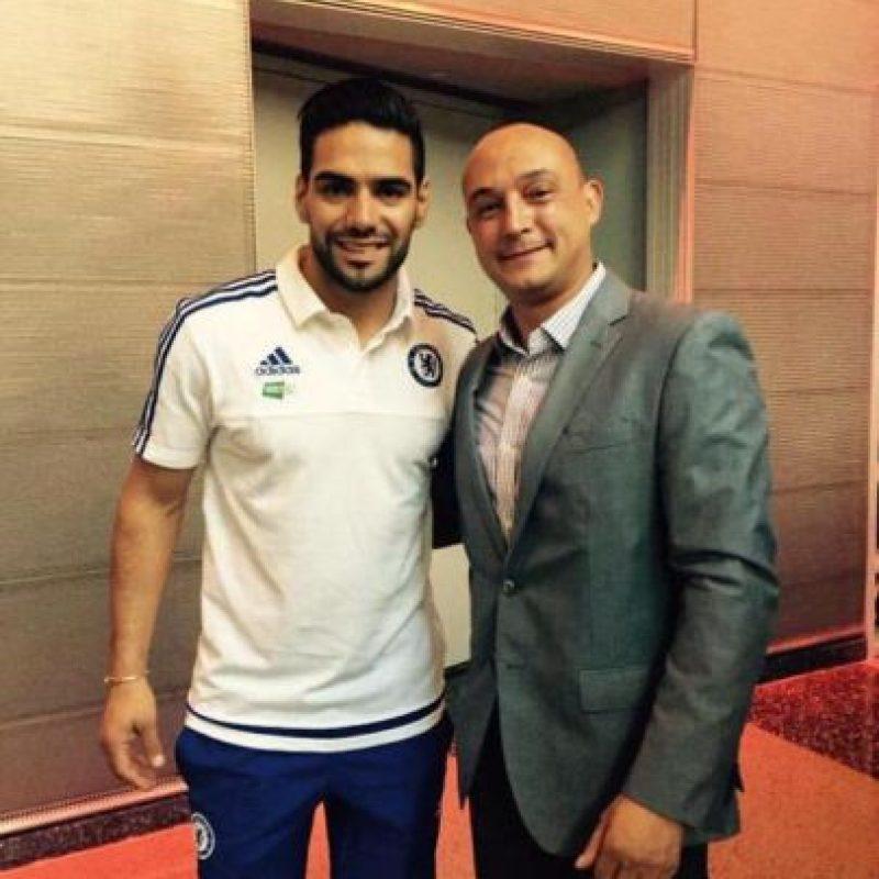 Radamel Falcao al Chelsea en calidad de préstamo. Foto:Vía twitter.com/chelsealat