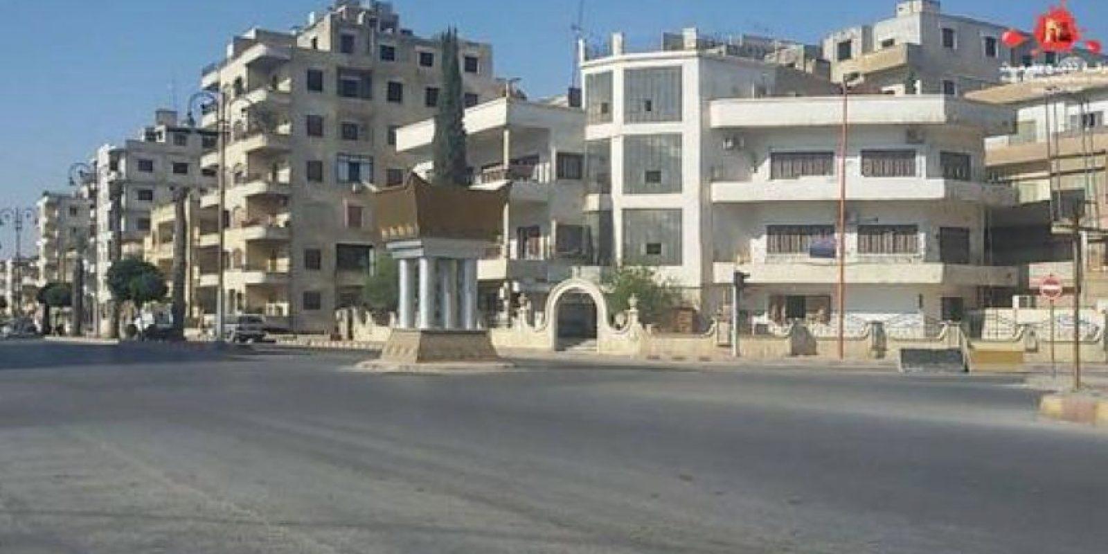 Así luce Raqqa, en Siria, una de las ciudades más importantes para ISIS Foto:Twitter.com/raqqa_mcr