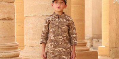 Difundió un nuevo video de entrenamiento a niños Foto:Twitter.com/raqqa_mcr