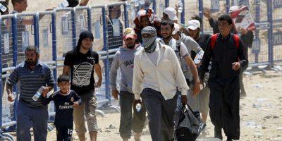 De los 4.27 millones de refugiados un millón 805 mil 255 está en Turquía. Foto:Getty Images