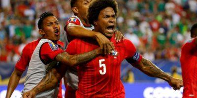 """""""Concacaf, ladrones"""", fue el mensaje que los futbolistas panameños dedicaron a la confederación al término del partido Foto:Getty Images"""