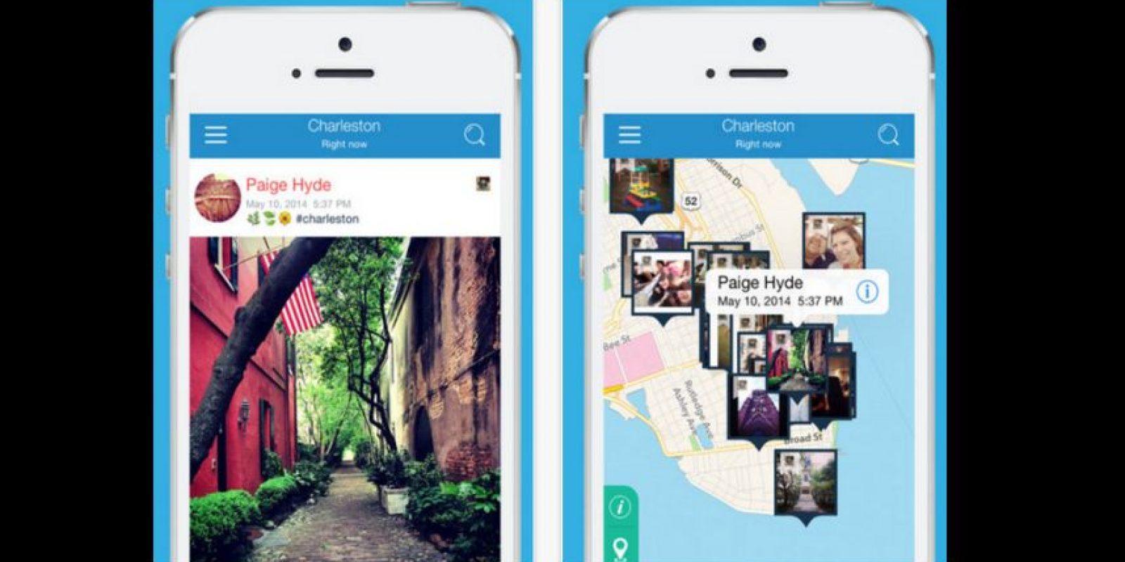 Pixifly ubica lo que necesitan mediante la fecha y locación desde iOS Foto:Pixifly