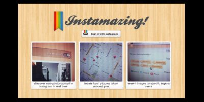 Esta plataforma es una aplicación web para descubrir contenido, ya que muestra las últimas imágenes que se añaden a esta plataforma en tiempo real Foto:instamazing.net/