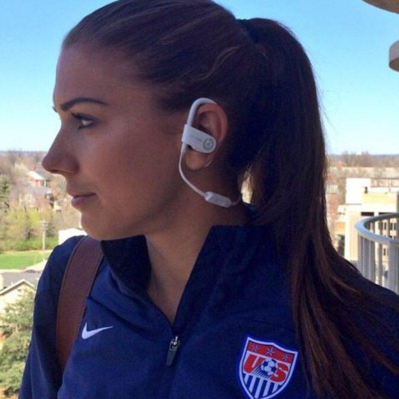 También es integrante de la Selección de Estados Unidos. Foto:Vía instagram.com/alexmorgan13