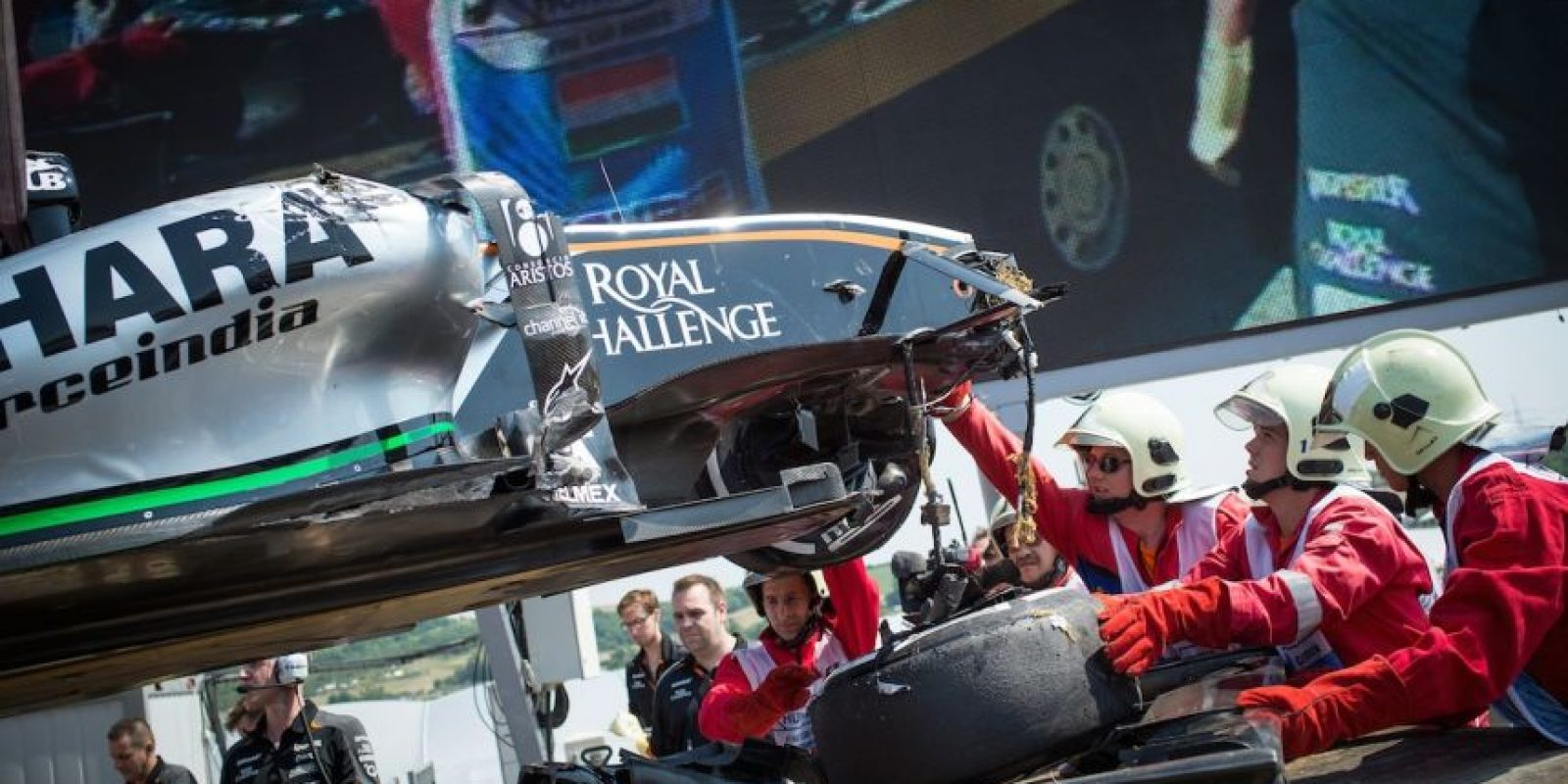 Gran Premio de Hungría 2015 Foto:AFP