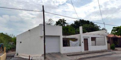 """Esta es la casa de """"El Chapo"""" Guzmán en Culiacán, Sinaloa. Foto:AFP"""