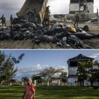 Imágenes captadas en Bahía de Aceh, en Indonesia Foto:Getty Images