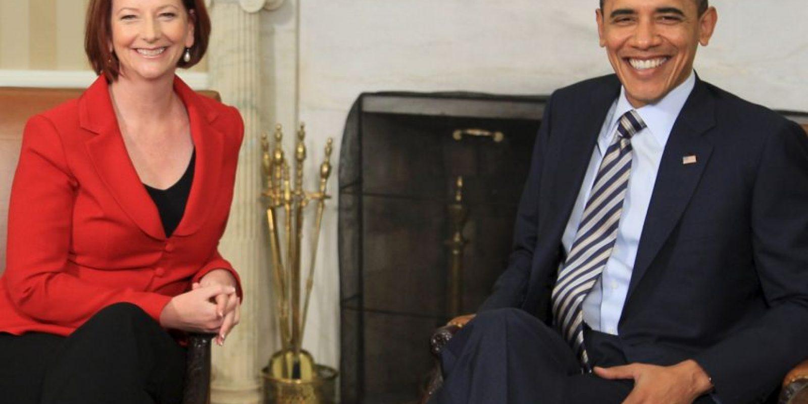 """Otra exministro le preguntó que tanto lo era y ella contestó que """"muy"""". Foto:Getty Images"""