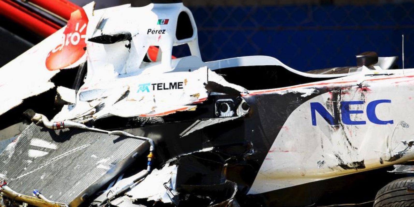 6. Sergio Pérez (Sauber y Force India) Foto:Getty Images