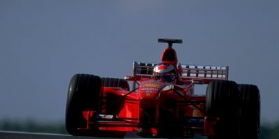 2. Michael Schumacher (Ferrari) Foto:Getty Images